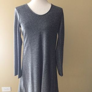 Silver Karen Kane Cocktail Dress